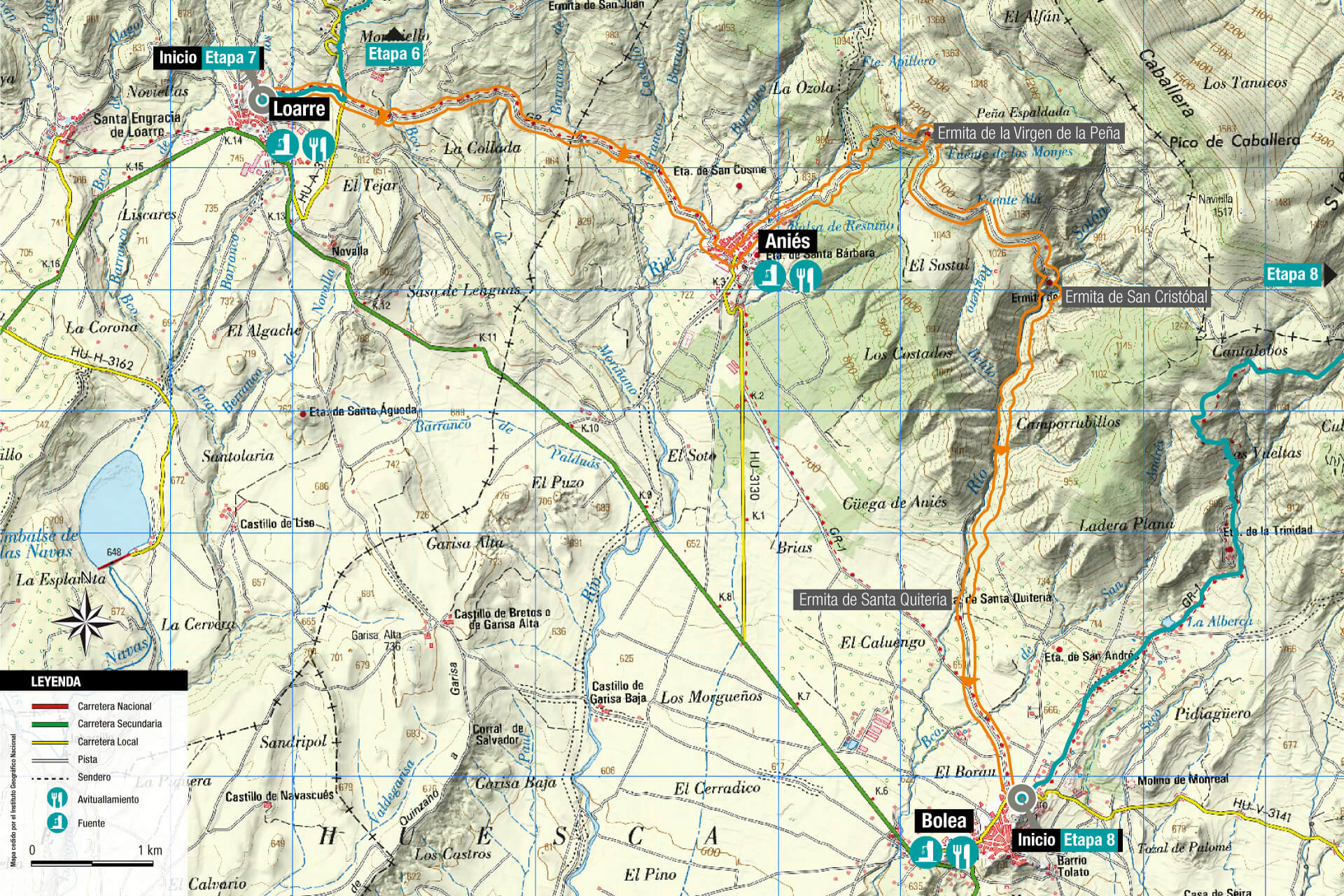 Rutas outdoor de trekking bike trail running cultural y - Casa rufino bolea ...